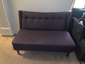 Dark purple couch for Sale in Richmond, CA