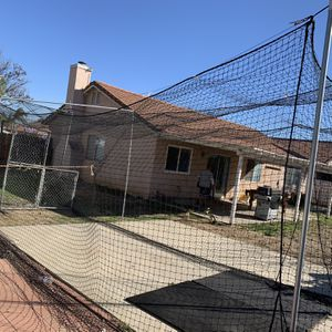 Baseball Batting Cage Net - Heavy Duty Grade for Sale in Fontana, CA