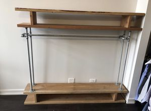 Industrial Clothing Rack/Shelf Unit for Sale in Chicago, IL