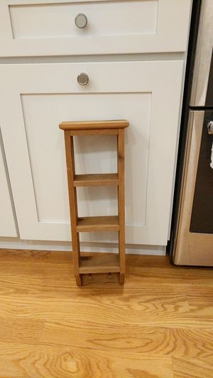 """Small wood display shelf 21"""" long for Sale in Amherst, MA"""