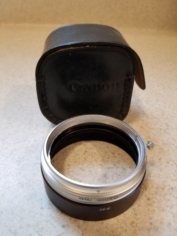 Vintage Canon zoom lenses and Chinon CS 35mm camera - $100