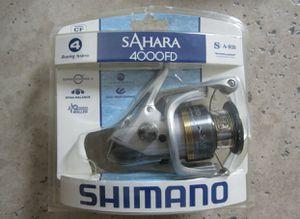 Shimano Sahara 4000FD Spinning Fishing Reel for Sale in Modesto, CA