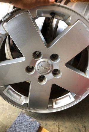 Jeep Wrangler rims n spear tire for Sale in Spartanburg, SC