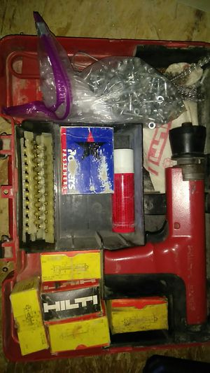 Hilti dx35 powder actuated nail gun for Sale in Columbus, OH