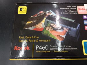 """Kodak P460 Personal Photo Scanner (Up to 4"""" x 6"""") for Sale in Boca Raton, FL"""