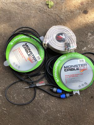 Speaker cables for Sale in Providence, RI
