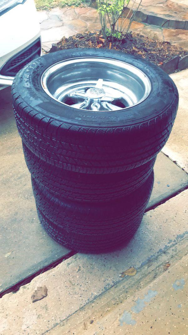 Muscle car wheels
