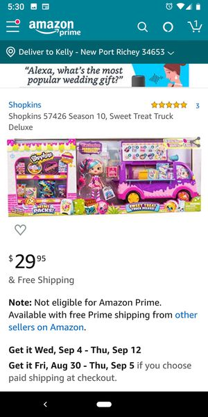 Brand new Shopkins deluxe! for Sale in New Port Richey, FL