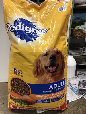 55 pounds pedigree dry dog food for Sale in Montclair, CA