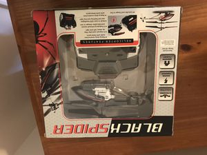 black spider wireless indoor helicopter for Sale in Henrico, VA