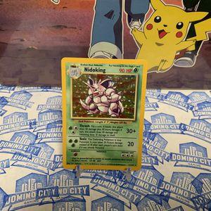 Nidoking Base Set 11/102 Pokemon Trading Card Game for Sale in Montclair, CA