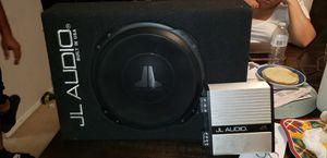 jl audio car combo firm price for Sale in Silver Spring, MD