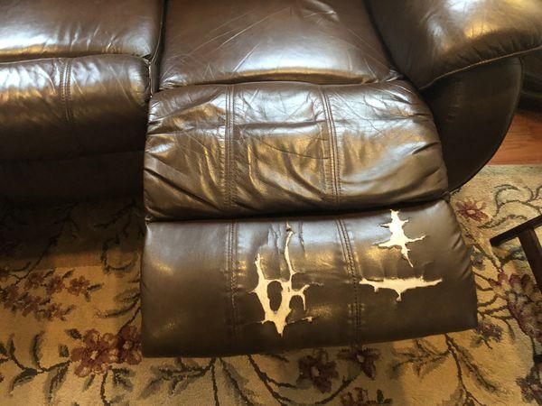 Free Double Recliner Sofa
