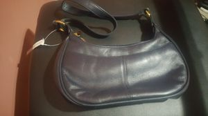 New with tags genuine leather Etienne Aigner hobo shoulder bag double gold zippers for Sale in Columbus, OH