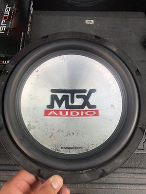 """MTX 5510-4 THUNDER 5500 10"""" SUB for Sale in Anaheim, CA"""