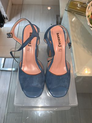 Blue platform sandals for Sale in Miami, FL