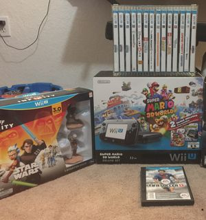 Wii U Nintendo gaming console and games bundle for Sale in Miramar, FL