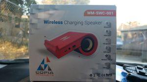Wireless charging speaker for Sale in Stockton, CA