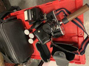 Canon AE-1 with accessories for Sale in Miami, FL