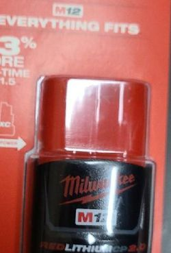 M12 Red Lithium Cp2.0 Battery for Sale in Boise,  ID