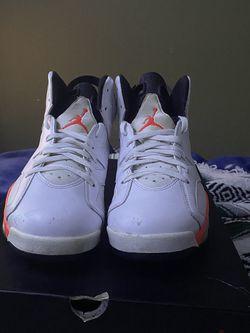 """Air Jordan 6 """"infared"""" Sz 11 for Sale in Seattle,  WA"""