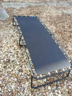 Bed frame folding. 32 x 75 inch. 300 other items. look under sellers other items for Sale in Atlanta, GA