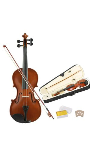 Acoustic violin full size 4/4 for Sale in Bristol, CT