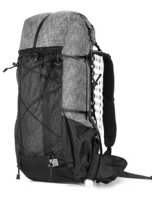 Ultralight Frameless Hiking Backpacking Backpack - Water Resistant - 56L for Sale in Dallas, TX