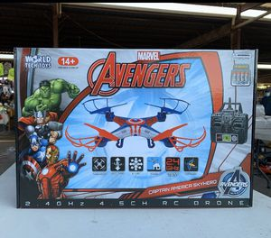NEW Marvel Avengers Captain America Drone for Sale in Fort Worth, TX