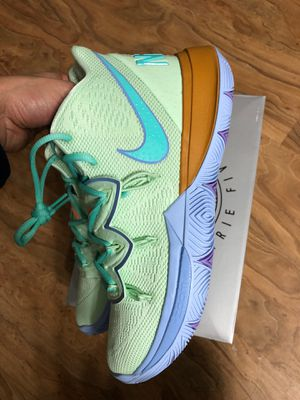 Brand new never worn NIKE Kyrie 5 spongebob squid wars basketball shoe size 8 for Sale in Westminster, CA