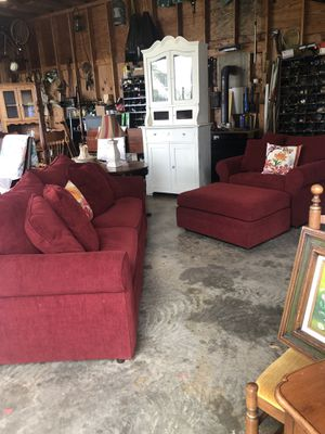 Sofa, oversized chair and Ottoman for Sale in Lovettsville, VA