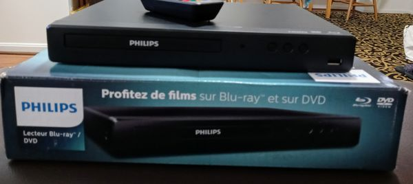 BLU RAY / DVD. PHILIPS.