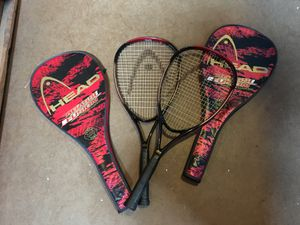 Head brand pair of tennis rackets. for Sale in Solvang, CA