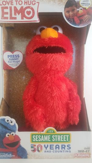 "***BRAND NEW SESAME STREET "" LOVE TO HUG ELMO"" ONLY $15*** for Sale in Glendale, AZ"