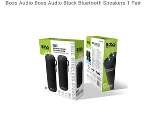 Boss Audio Boss Audio Black Bluetooth Speakers 1 Pair for Sale in Hammond, IN