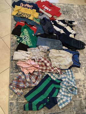 Boys kids clothes size 5/6/7 tops bottoms name brand old navy gap levys Calvin Klein for Sale in Windermere, FL