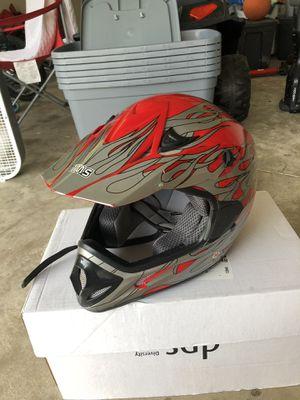 Kids dirt bike helmet medium for Sale in Martinsburg, WV