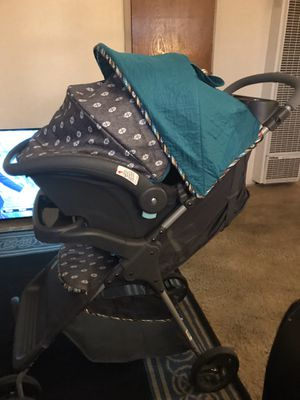Brand New 3 in 1 Stroller Baby Outgrew, With CarSeat & Base for Sale in Oakland, CA