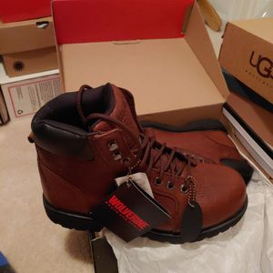 WOLVERINE STEEL TOE WORK BOOTS BRAND NEW IN BOW W/ TAGS for Sale in Streamwood, IL