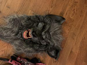 Halloween wolf mask for Sale in Virginia Beach, VA