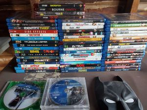Blu rays and hd dvds for Sale in Allen Park, MI