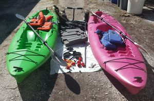 2 Kayaks + Lots of Extras for Sale in St. Pete Beach, FL