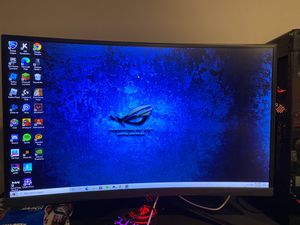 ASUS ROG STRIX 144hz FREESYNC CURVED GAMING MONITOR for Sale in Powell, OH