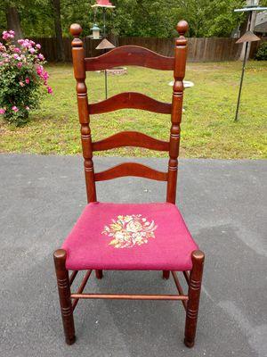 Antique ladder back chair for Sale in Mechanicsville, VA