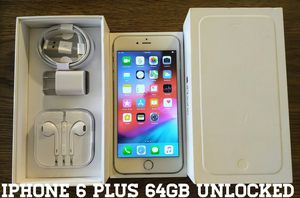 Iphone 6 Plus UNLOCKED 64GB (Like-New) for Sale in Alexandria, VA