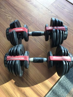 Bowflex selectech dumbbells for Sale in Virginia Beach, VA