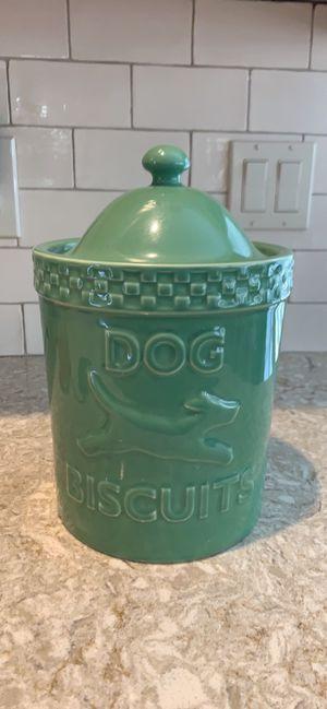 Longaberger Mulligan Dog Biscuit Jar for Sale in Jackson Township, NJ