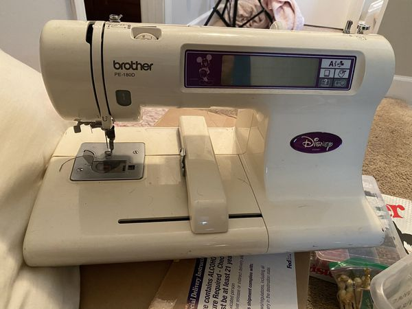 Brother Disney Embroidering Machine