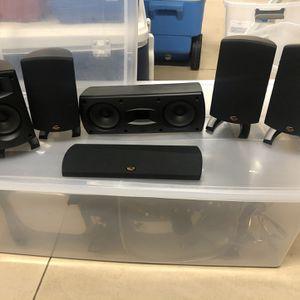 Klipsch Quintet II Surround Speakers for Sale in St. Petersburg, FL