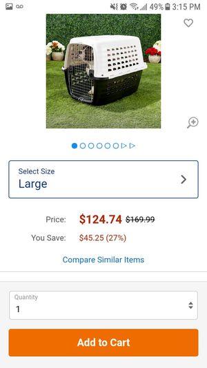 Larg dog kennel for big dog like saint Bernard for Sale in Chicago, IL